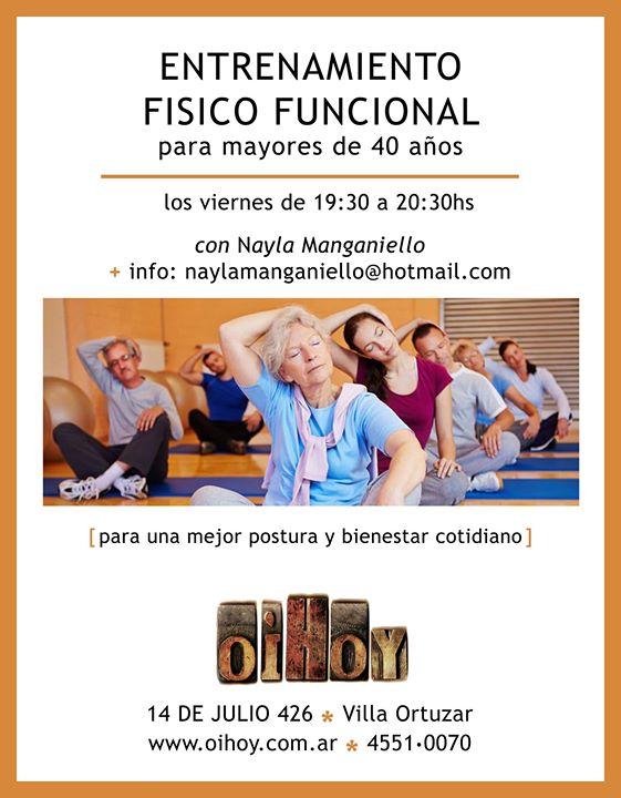 CLASE GRATUITA Entrenamiento Físico Funcional en Oihoy! 7