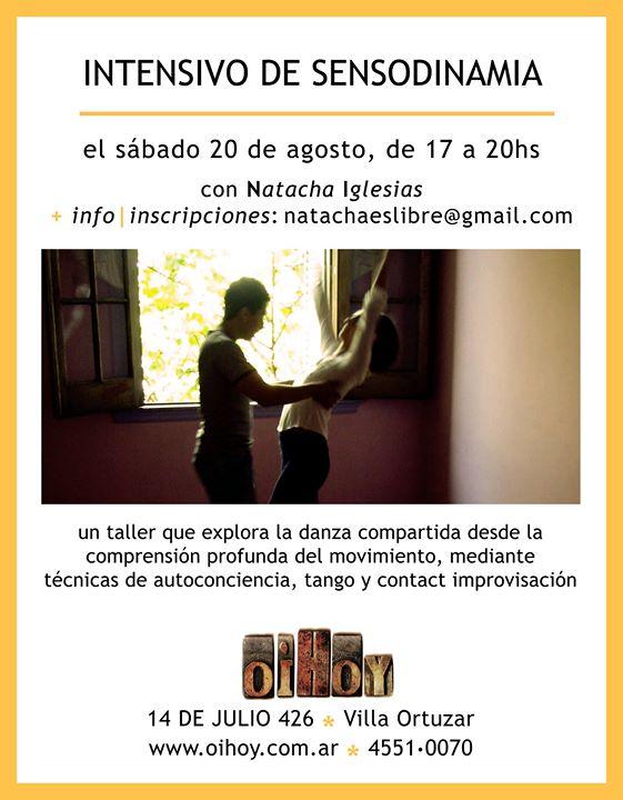 Seminario Intensivo de Sensodinamia 13 - OiHoy Casa Abierta