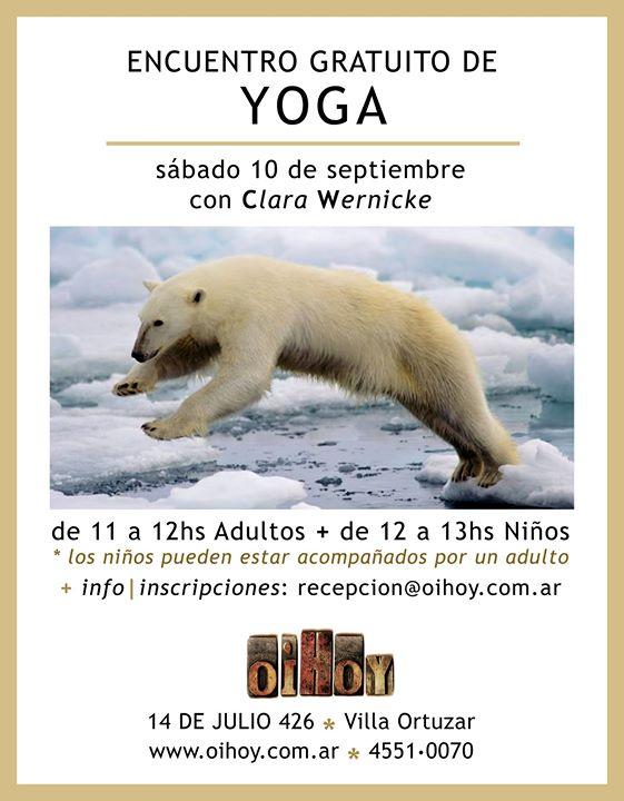 Encuentro Abierto y Gratuito de Yoga para Adultos y Niños 7