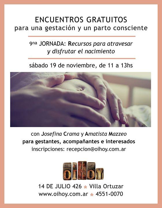 9na Jornada Gratuita de Parto y Gestación Consciente 7