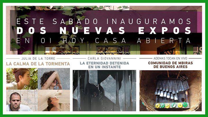 Inauguración Nuevas Expos + Música en Vivo! 13 - OiHoy Casa Abierta