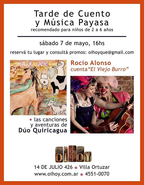 Tarde de Cuento y Música Payasa en Oihoy! 13 - OiHoy Casa Abierta