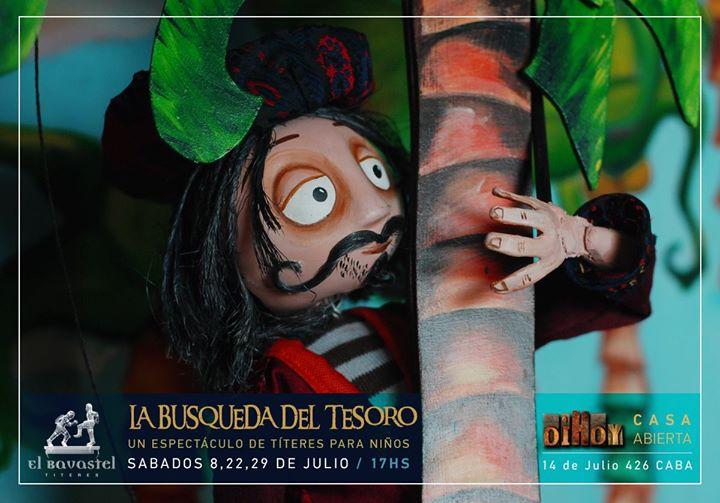 La Búsqueda del Tesoro / Títeres #alagorra 13 - OiHoy Casa Abierta