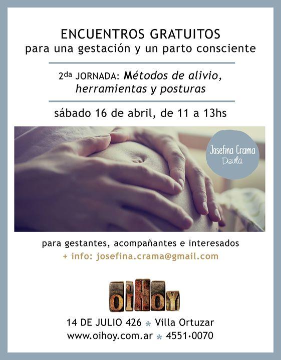 2da Jornada Gratuita: Gestación y Parto Consciente 7