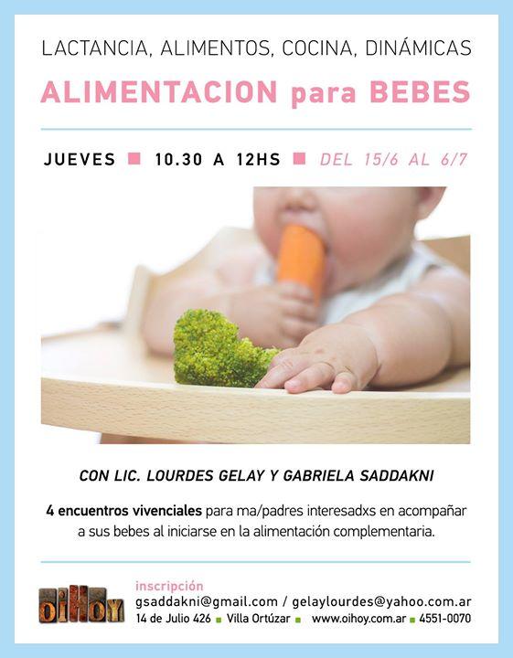 Taller de Alimentación para Bebes 13 - OiHoy Casa Abierta