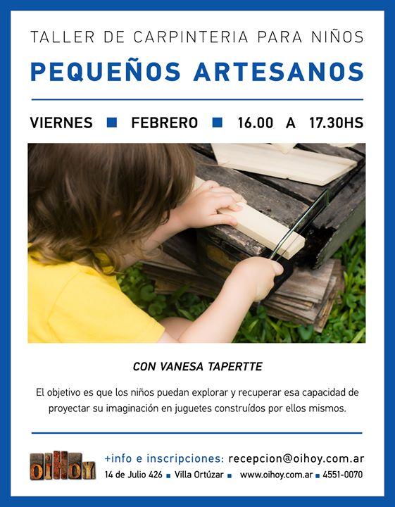 Taller de Carpintería Para Niños 13 - OiHoy Casa Abierta