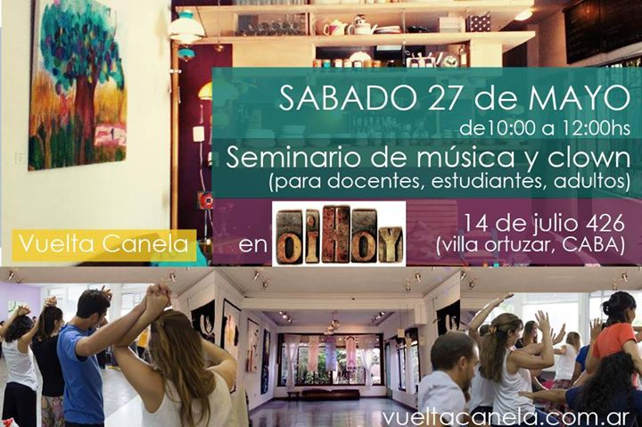 Seminario de música y clown para adultos 13 - OiHoy Casa Abierta