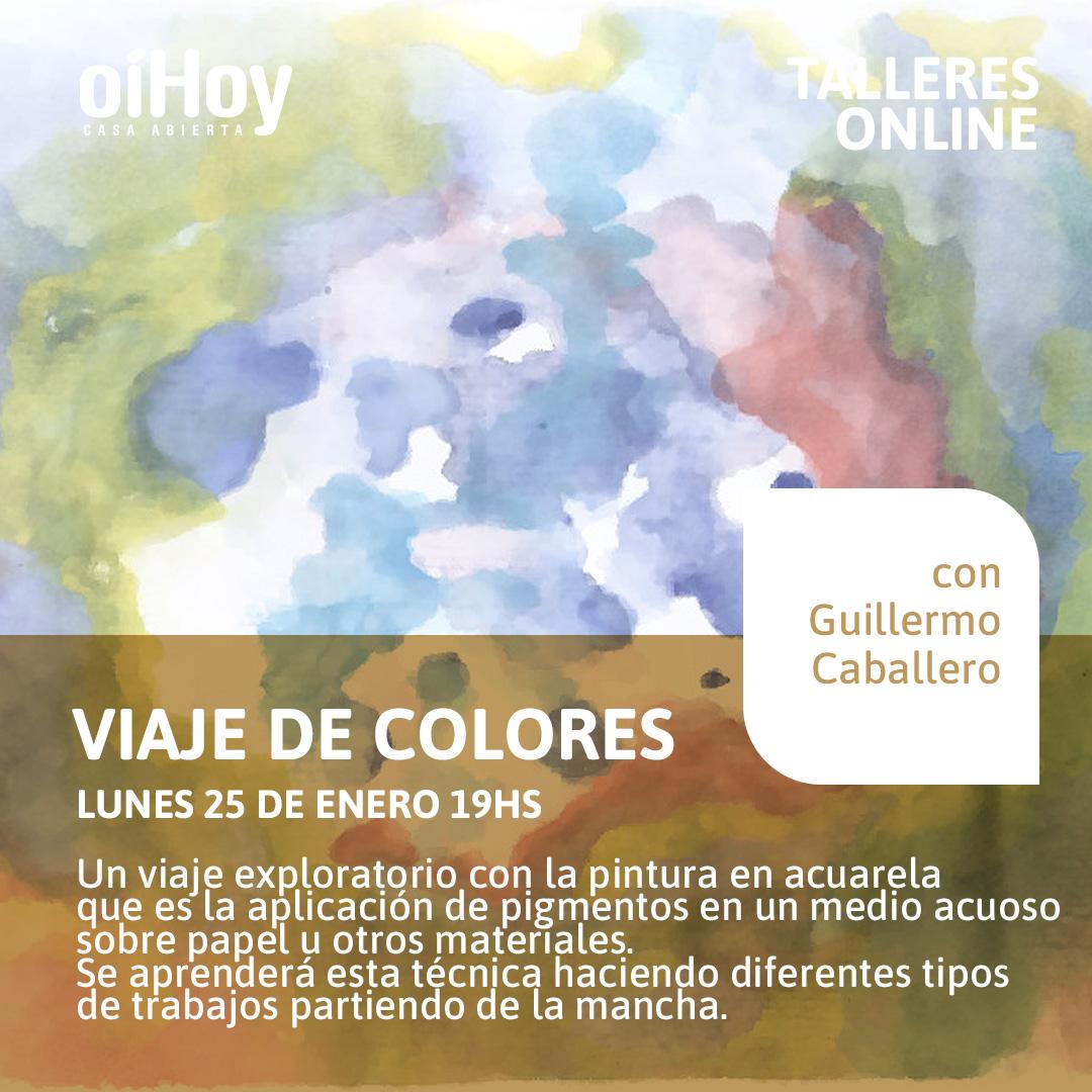 Viaje de colores - Pintura en acuarela 13 - OiHoy Casa Abierta