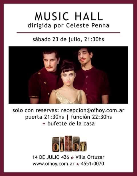 Music Hall - Teatro en Oi Hoy! 13 - OiHoy Casa Abierta
