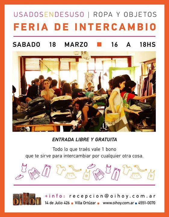 1er Feria de Intercambio del año! 13 - OiHoy Casa Abierta