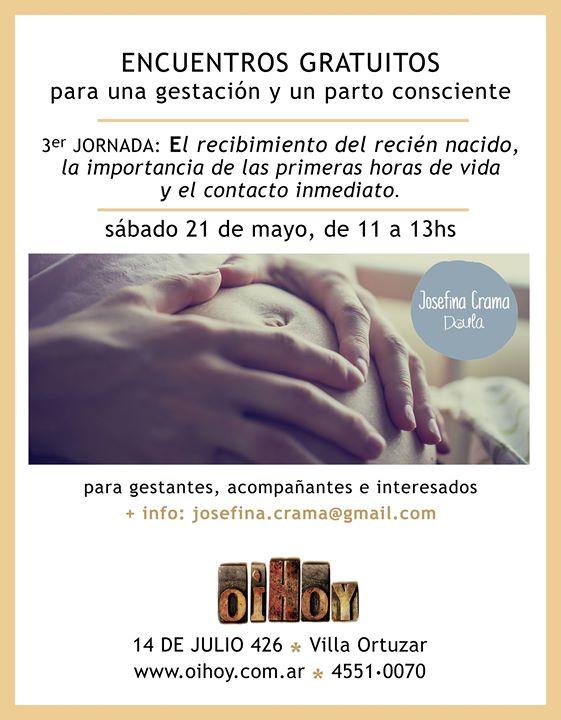 3er JORNADA GRATUITA Parto y Gestación Consciente 7