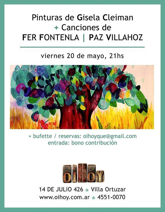 Gisela Cleiman / Fer Fontenla / Paz Villahoz 13 - OiHoy Casa Abierta