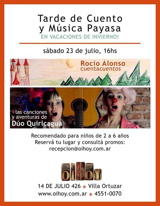 Quiricagua, Taller de Cuentos y Música Payasa 7
