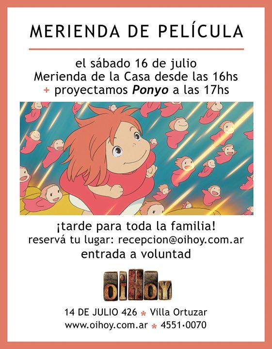 Merienda de Película con Ponyo (entrada a voluntad) 13 - OiHoy Casa Abierta