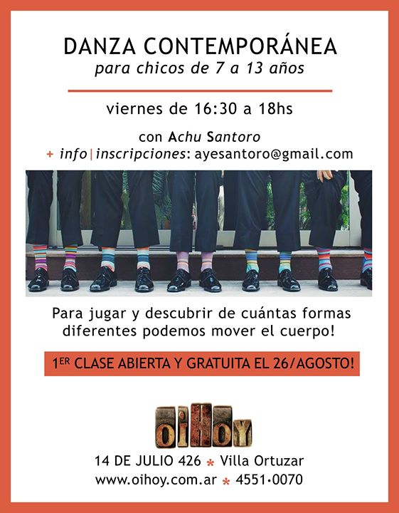 Clase Gratuita de Danza para Niños 13 - OiHoy Casa Abierta