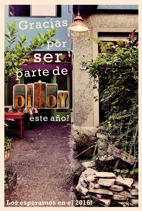 ULTIMO EVENTO DEL AÑO EN OIHOY! LA INSURGENCIA DEL CARACOL + SOLENTINA + FERIA en COLORES! 13 - OiHoy Casa Abierta
