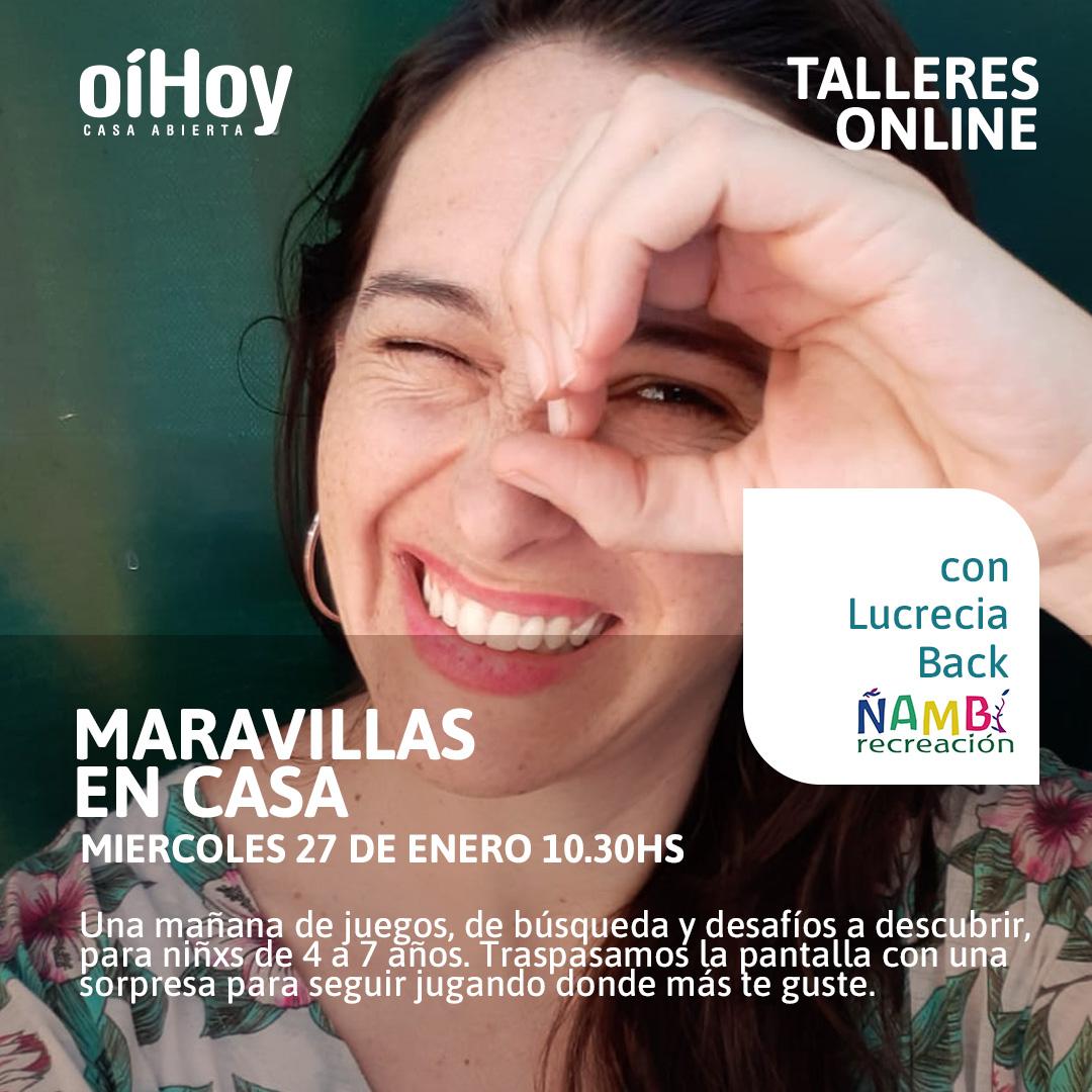 MARAVILLAS EN CASA - Juegos en casa 13 - OiHoy Casa Abierta